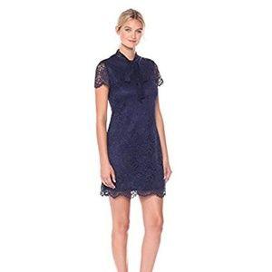 Betsey Johnson navy shift mini dress